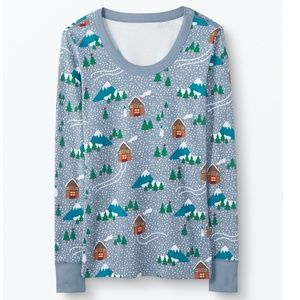 Hanna Andersson Organic Women's Holiday Top